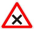 Пересечение равнозначных дорог