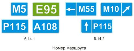 Номер маршрута