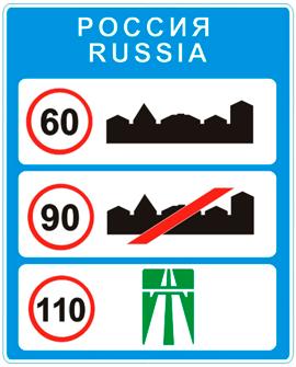 Общие ограничения максимальной скорости