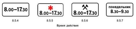 Время действия