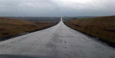 Дорога без разметки